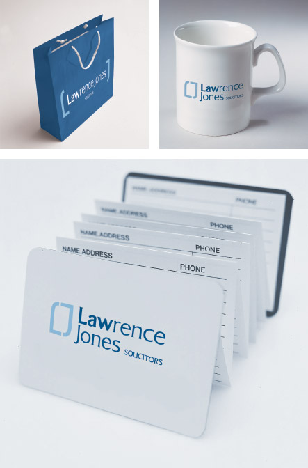 Lawrence Jones Brand identity