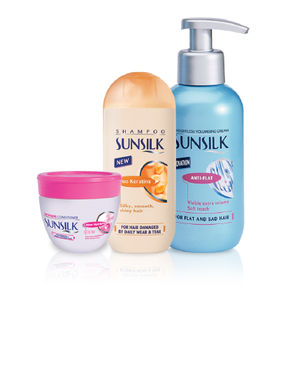 Sunsilk products