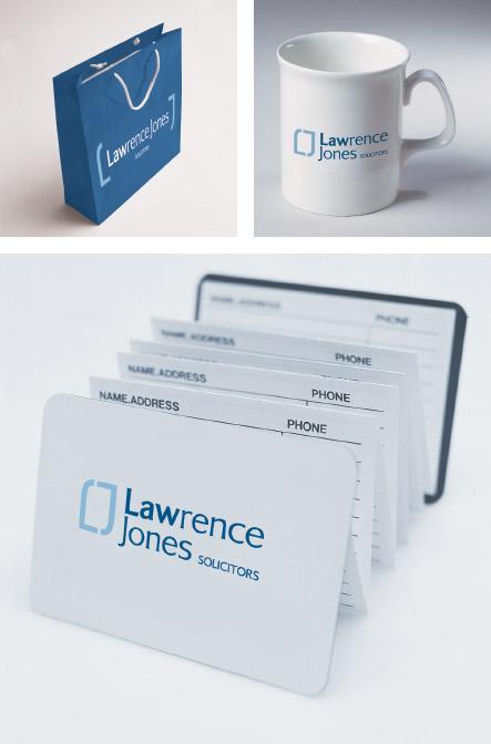 Lawrence Jones Brand identity