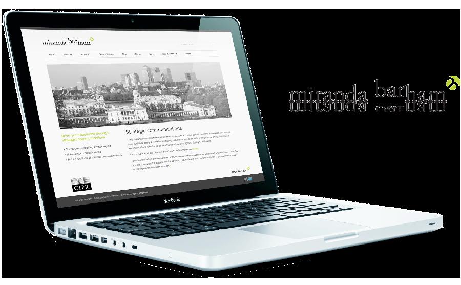 Miranda Barham Website